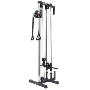 Valor Fitness BD-62 Wall Mount Cable Station with Adjustable Dual Pulley System