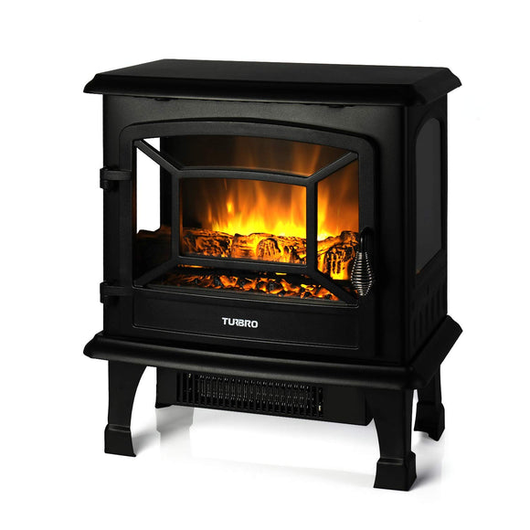 TURBRO Suburbs TS20 Electric Fireplace Heater, Freestanding Fireplace Stove garrison-city-gadgets.myshopify.com [option1] [option2] [option3]
