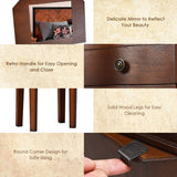 Giantex Jewelry Armoire Chest Cabinet Storage Organizer garrison-city-gadgets.myshopify.com [option1] [option2] [option3]