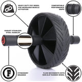 Ab Roller for Abs Workout - Ab Roller Wheel Exercise Equipment