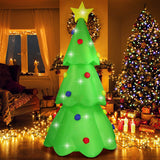 Fanshunlite Christmas Inflatable 9FT LED Color Changing Christmas Tree Lighted Blow-Up garrison-city-gadgets.myshopify.com [option1] [option2] [option3]