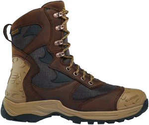 "Lacrosse Men's 572110 Atlas 8"" Hunting Boot, Brown - 12 M US garrison-city-gadgets.myshopify.com [option1] [option2] [option3]"