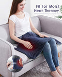 Utaxo Heating Pad for Pain Relief, 6 Electric Temperature Options, XXX-Large King Size