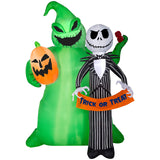Gemmy Disney 6.5-ft x 4.92-ft Lighted The Nightmare Before Christmas Halloween Inflatable garrison-city-gadgets.myshopify.com [option1] [option2] [option3]