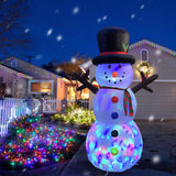 RETRO JUMP 10 Ft Giant Christmas Inflatable Snowman with Magic Hat garrison-city-gadgets.myshopify.com [option1] [option2] [option3]