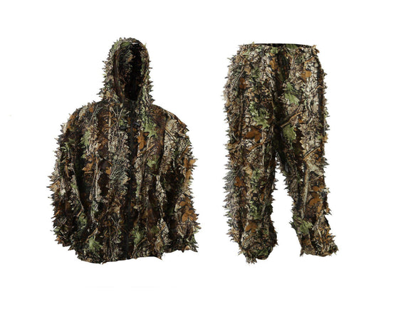 EAROOMZE Mens 3D Lightweight Hooded Camouflage Ghillie Breathable Hunting Suit garrison-city-gadgets.myshopify.com [option1] [option2] [option3]