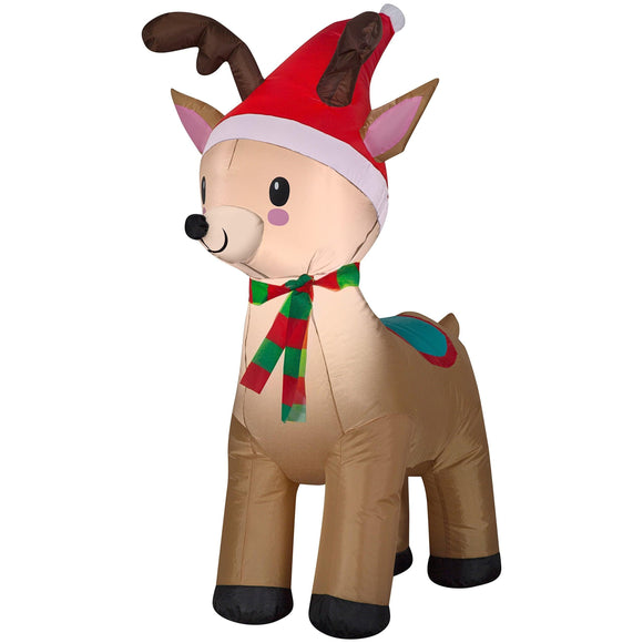 Airblown Christmas Holiday Blow Up Decoration Inflatable Reindeer 3.5 Feet (1) garrison-city-gadgets.myshopify.com [option1] [option2] [option3]