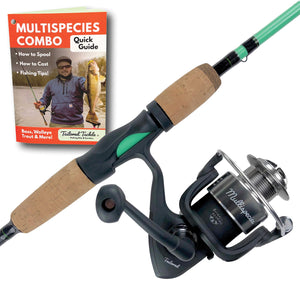 Tailored Tackle Universal Multispecies Rod and Reel Combo Fishing Pole garrison-city-gadgets.myshopify.com [option1] [option2] [option3]