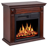 26'' Mantel Electric Fireplace Heater Small Freestanding Infrared Quartz Fireplace garrison-city-gadgets.myshopify.com [option1] [option2] [option3]