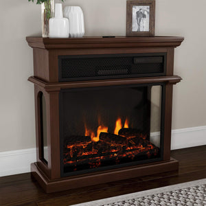 Northwest 80-FPWF-5 Freestanding Electric Fireplace-3-Sided Space Heater garrison-city-gadgets.myshopify.com [option1] [option2] [option3]