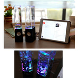LED Dancing Water Speakers - Garrison City Gadgets