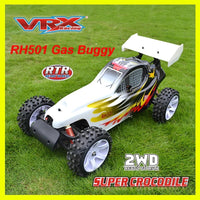 VRX Racing 1/5 Scale Gas RC Buggy 'Super Crocodile' Off-Road RTR Car RH501