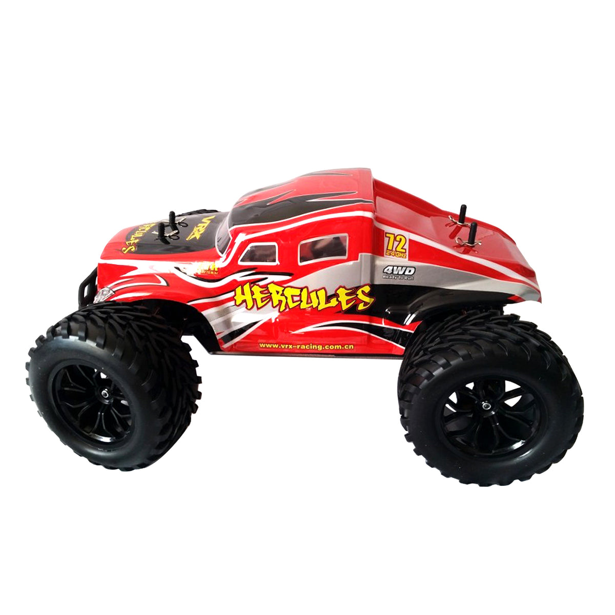 VRX Racing 1/10 Scale HERCULES Monster Truck RC 4WD