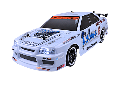 VRX X-Ranger DRIFT 1/10 Scale Street Touring Car RC w/ LED Lighting RH1025DL 4WD