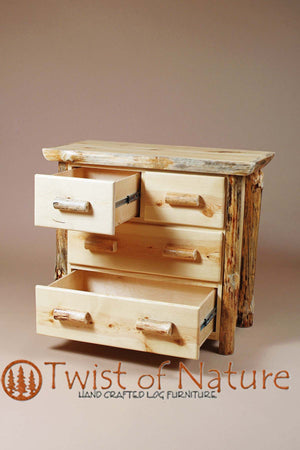 Split Drawer Log Dresser