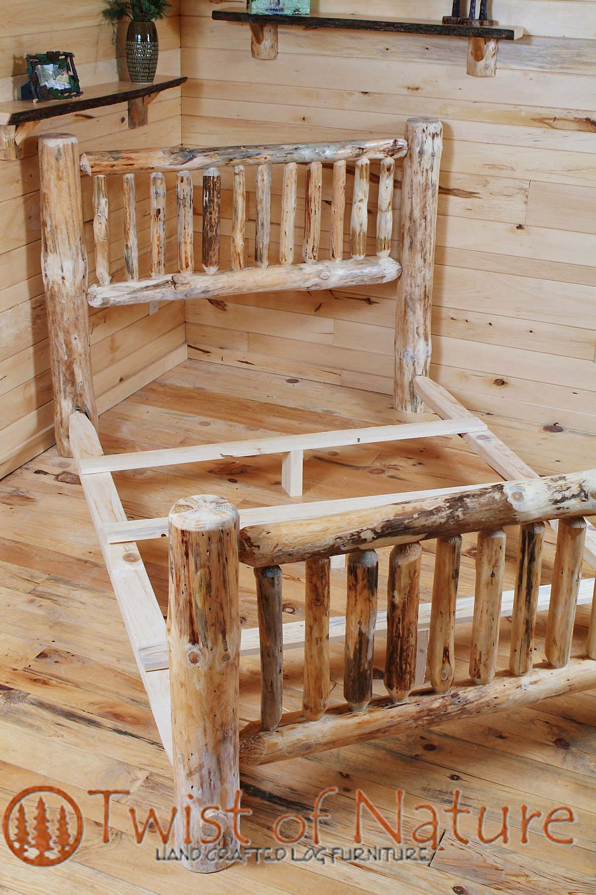 Standard Log Bed Frame Kit