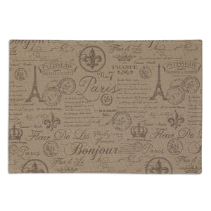 French Flourish Printed Placemat