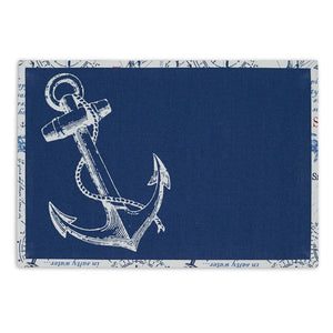 Anchor Printed Placemat