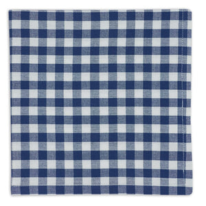 Blue Farm Check Napkin