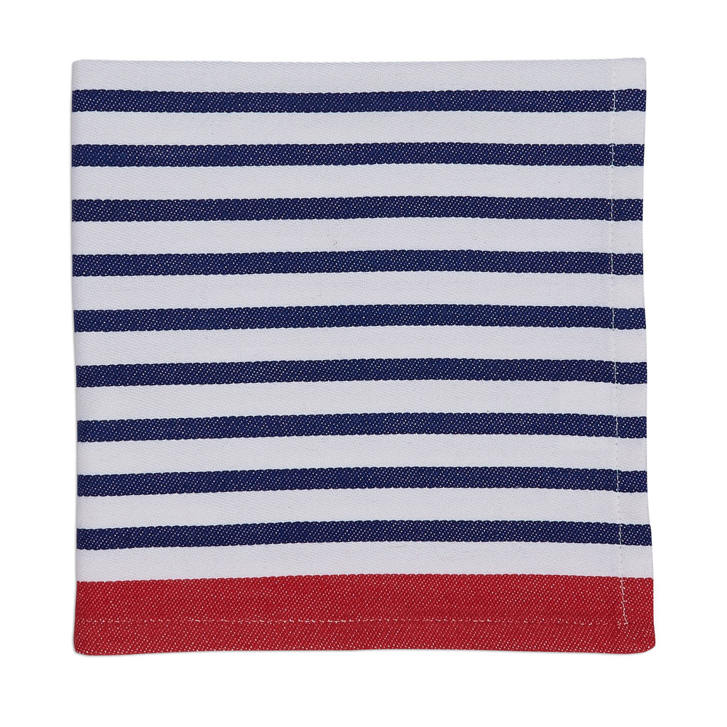 Anchor Blue Nauti Stripe Napkin