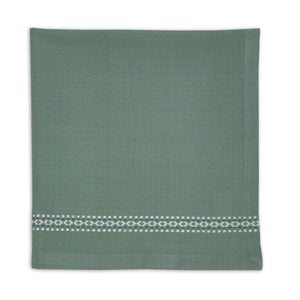 Patina Green Diamond Napkin
