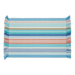 Seashore Stripe Fringed Placemat