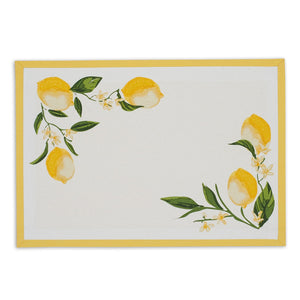 Lemon Bliss Printed Placemat