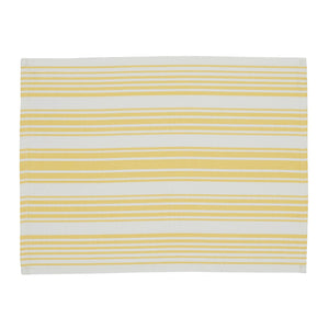 Lemon Zest Stripe Placemat