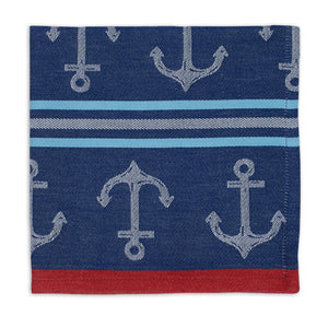 Anchor Stripe Jacquard Napkin