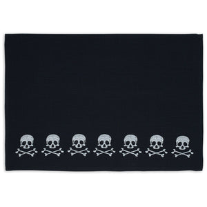 Skulls Embroidered Placemat