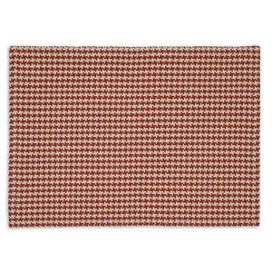 Pumpkin Houndstooth Placemat