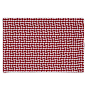 Tango Red Houndstooth Placemat
