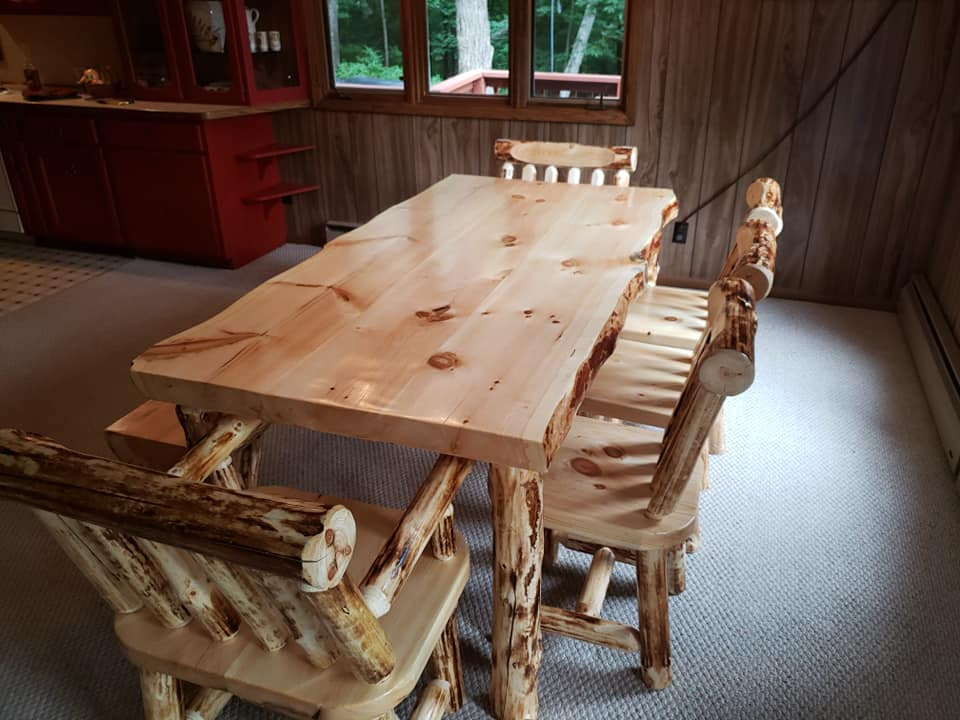 Log Dining Room Tables