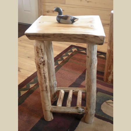 Slab End Table