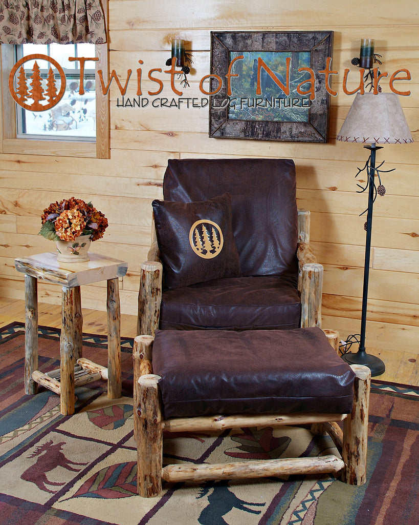 Log Futon Chair
