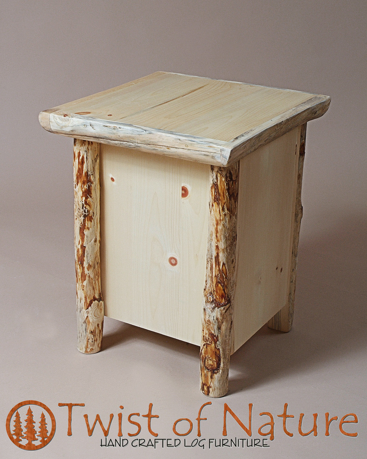 2 Drawer Nightstand/End Table