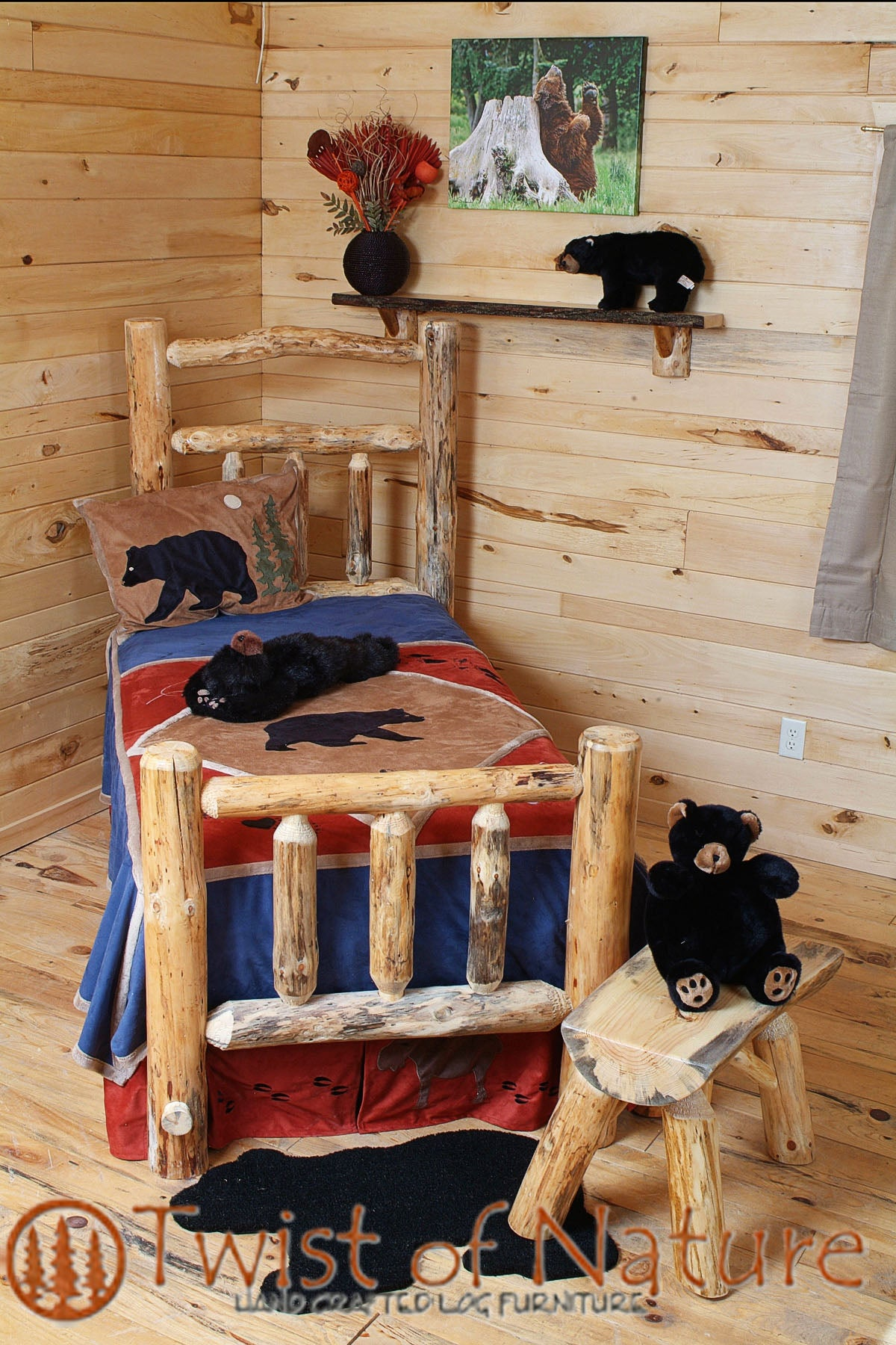 Deluxe Log Bed Frame Kit