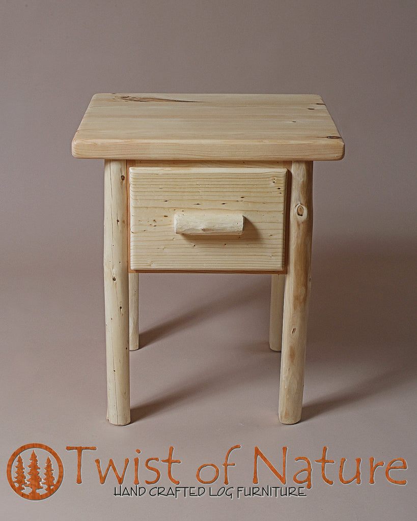 Single Drawer Nightstand