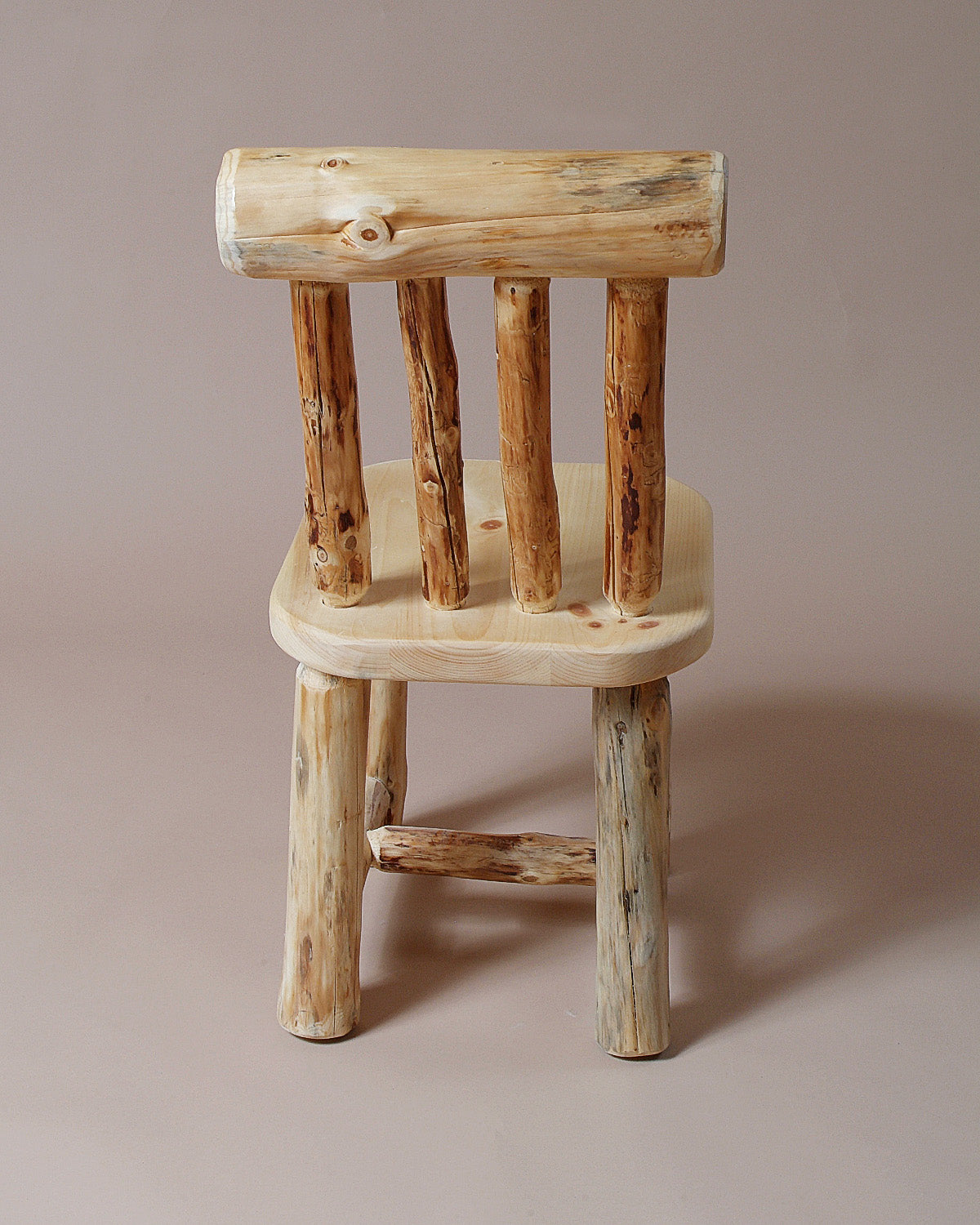 Log Kitchen Chair