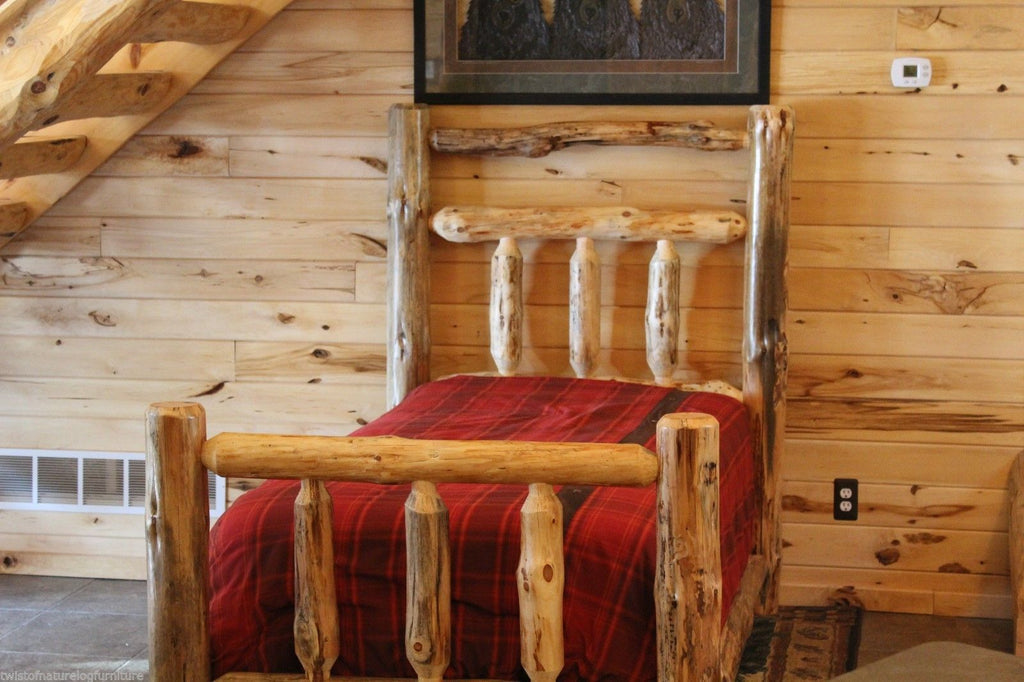 Deluxe Log Cabin Kit Bed