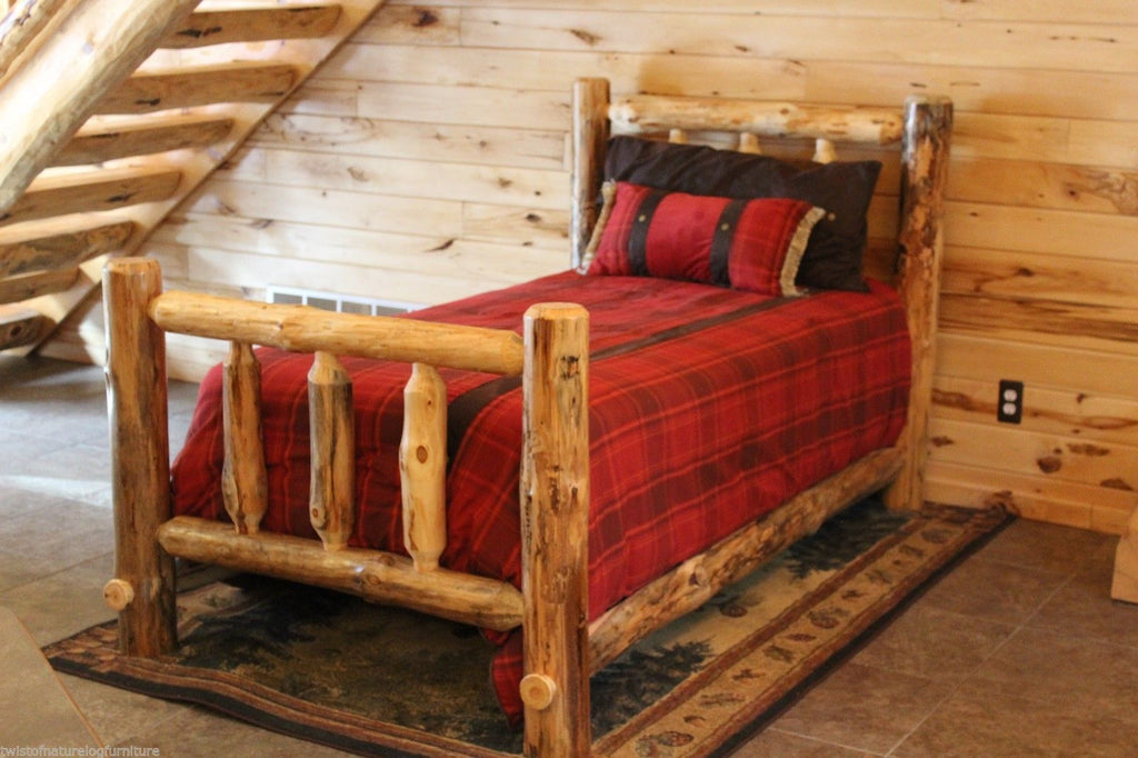 Log Cabin Kit Bed