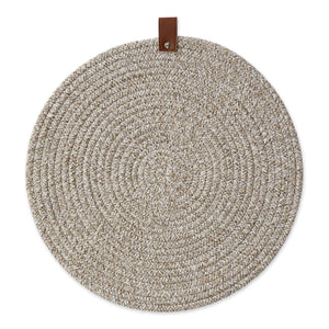 Earth Tan Round Placemat
