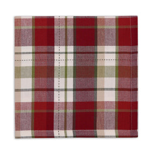 Mountain Trail Plaid Napkin