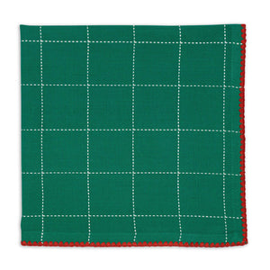 Joyful Dobby Green Napkin