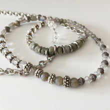Load image into Gallery viewer, Labradorite and Silver