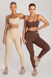Acacia Meshki Full Length Leggings - Nude - MESHKI ?id=16076116951115