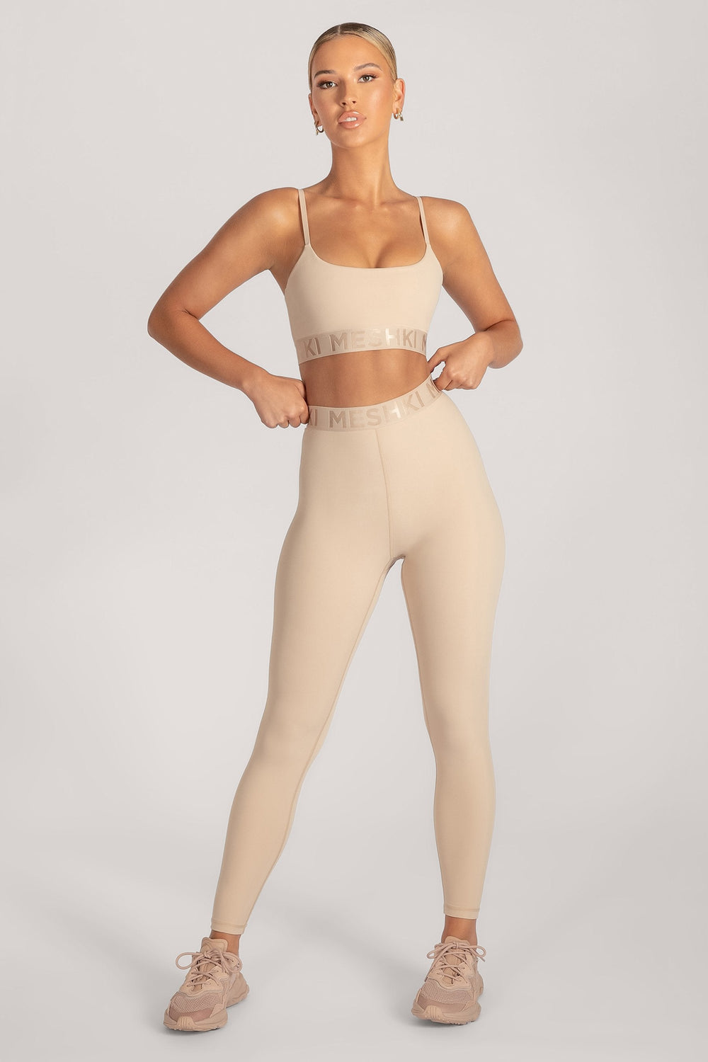 Acacia Meshki Full Length Leggings - Nude - MESHKI ?id=16076117049419