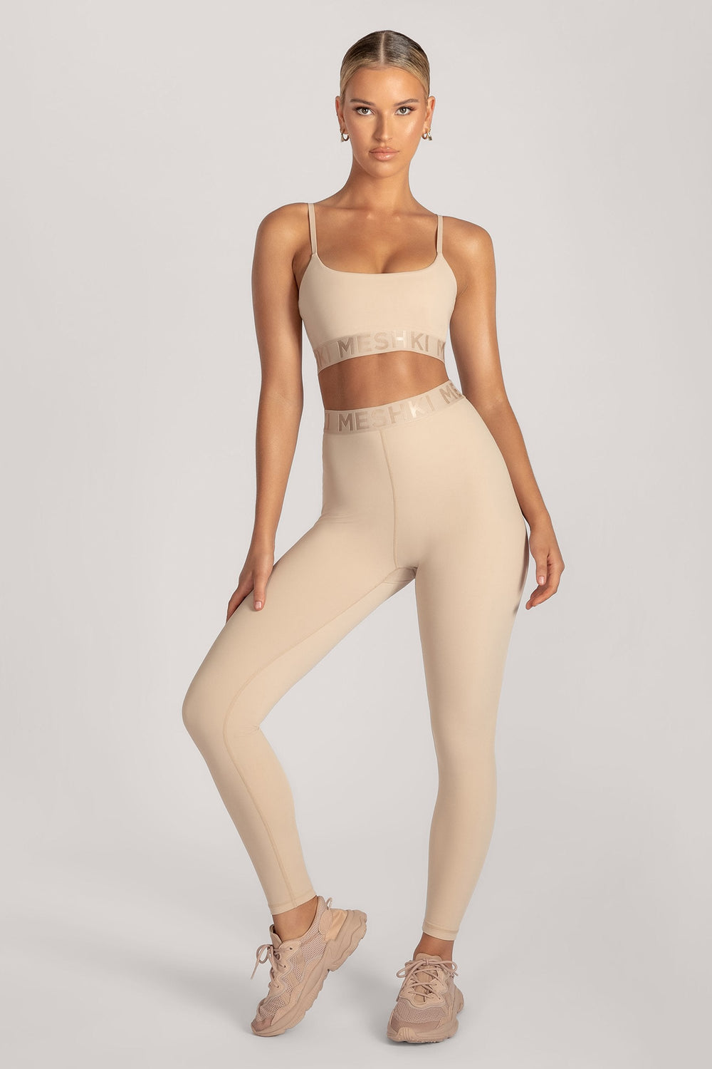 Acacia Meshki Full Length Leggings - Nude - MESHKI ?id=16076116983883