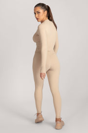 Venus V-Back Leggings - Nude - MESHKI ?id=16076078809163