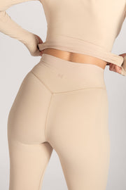 Venus V-Back Leggings - Nude - MESHKI ?id=16076078973003